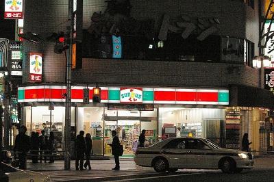 サンクス上野広小路店