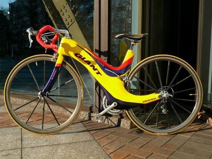 ドイツから来たGiant MCR teamというバイク写真1