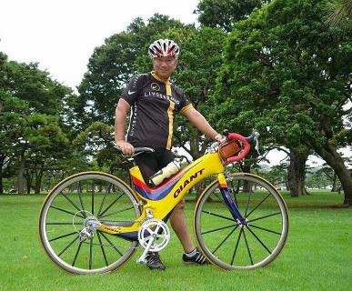 ドイツから来たGiant MCR teamというバイク写真2