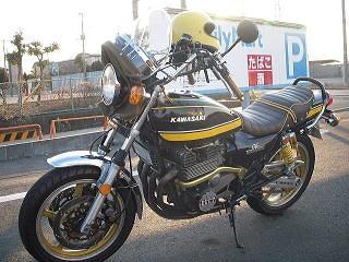 バイクチーム小金MFM ゼファー写真1