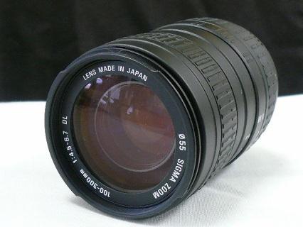 シグマ ズーム 100−300mm DL写真1