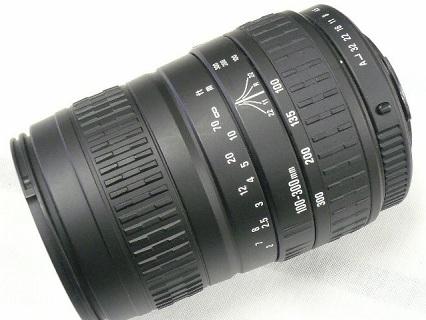 シグマ ズーム 100−300mm DL写真2