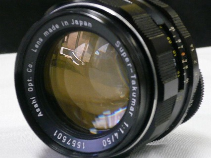 スーパー タクマー 50mm F1.4写真1
