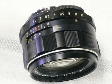 スーパー タクマー 50mm F1.4写真2