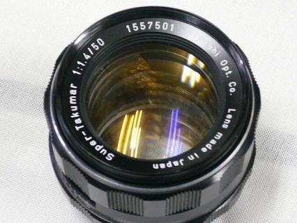 スーパー タクマー 50mm F1.4写真3