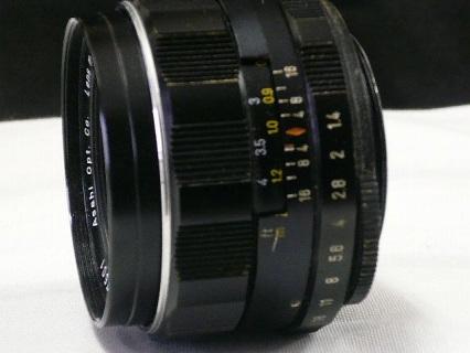 スーパー タクマー 50mm F1.4写真7