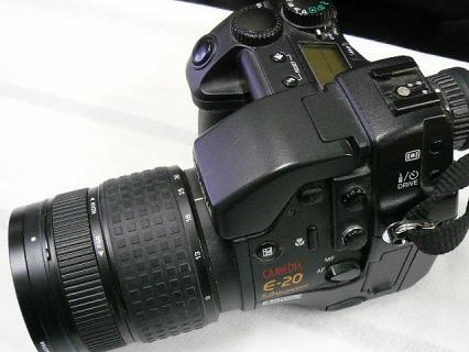 OLYMPUS E-20写真4