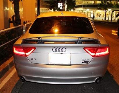 Audi A7写真5