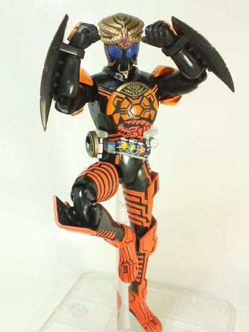 仮面ライダーオーズ ブラカワニコンボ写真2
