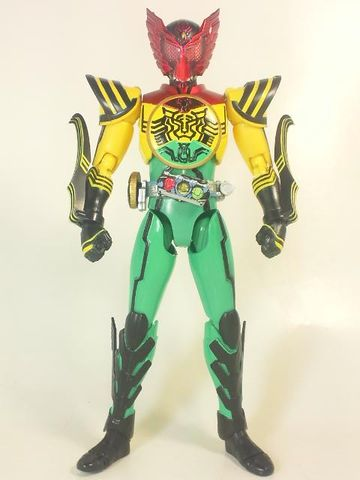 仮面ライダーオーズ スーパータトバコンボ写真2