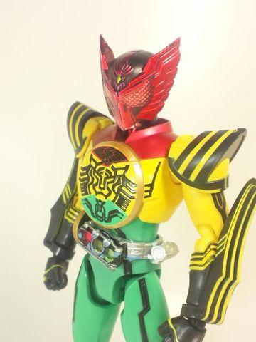 仮面ライダーオーズ スーパータトバコンボ写真3
