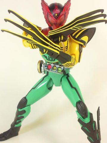 仮面ライダーオーズ スーパータトバコンボ写真4
